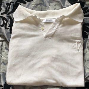 Versace - White Polo